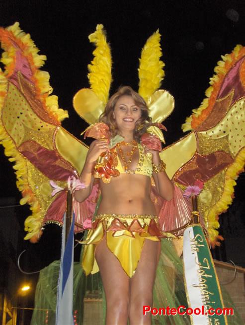 Ronda nocturnal Fiesta de las Frutas y Flores Ambato 2009
